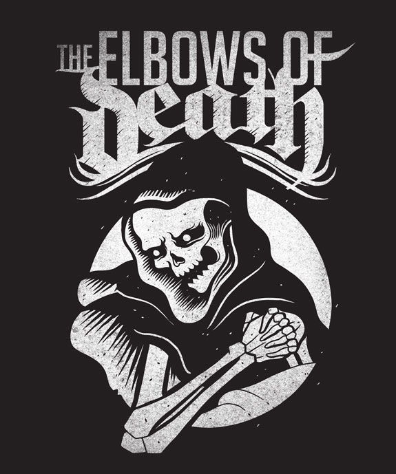 Elbows of Death, Logo, Massage