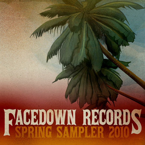 Facedown Records Sampler, cover art