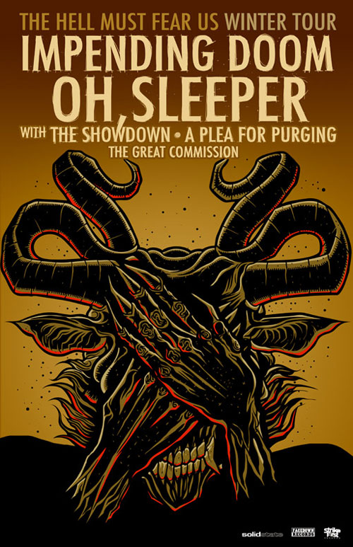 Oh, Sleeper, Impending Doom, Poster