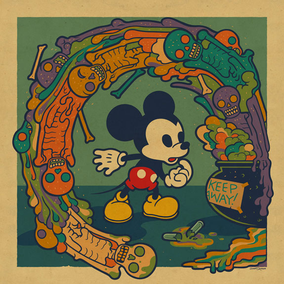 Keep Away Mickey