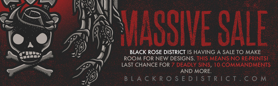Black Rose District massive sale