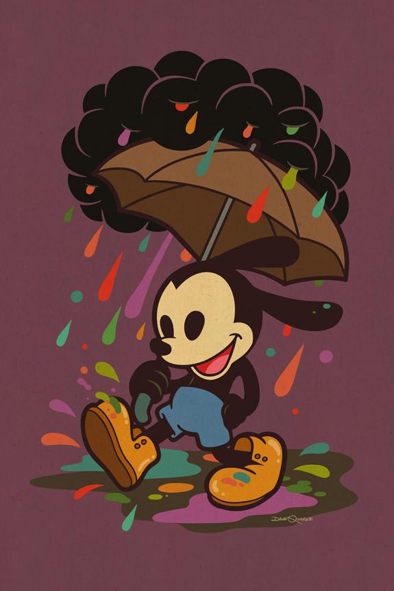 Oswald In The Rain