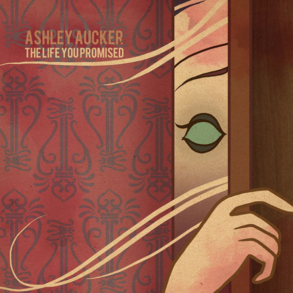 Ashley Aucker, Life You Promised, Alone, cover art