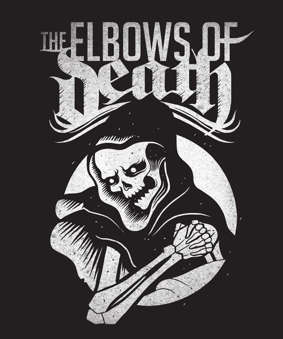 Elbows of Death, Logo, Massage