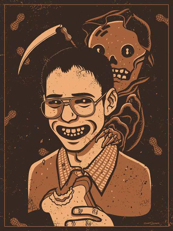 Haverchuck, Freaks and Geeks, Judd Apatow, Screen Print