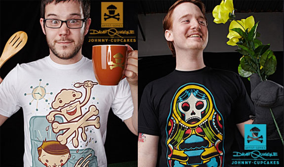 Johnny Cupcakes, Artist Series, Dave Quiggle