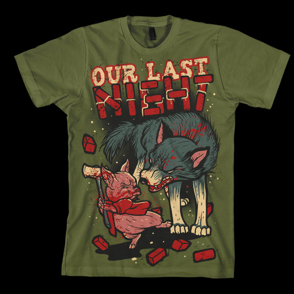 Our Last Night, t shirt