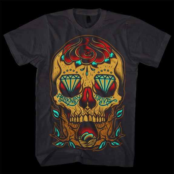 Parkway Drive, t shirts