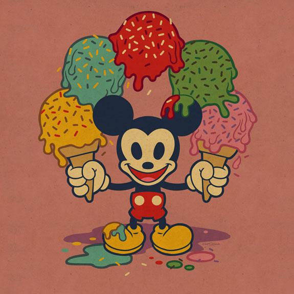 Ice Cream Mickey