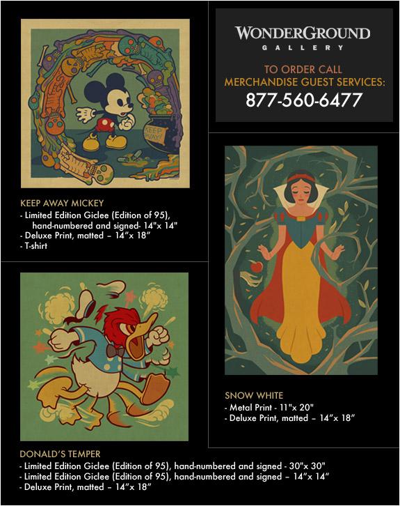 Disney ordering info